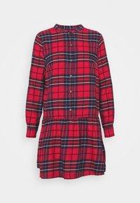GAP - DRESS PLAID - Shirt dress - red - 3