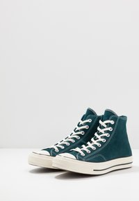 Converse - CHUCK  - Baskets montantes - midnight turquoise/black/egret - 2