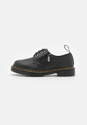 1461 ZIP 3 EYE SHOE  - Nauhakengät - black