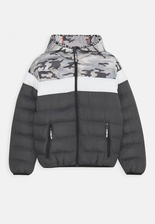 BOYS JACKET - Winter jacket - asphalt