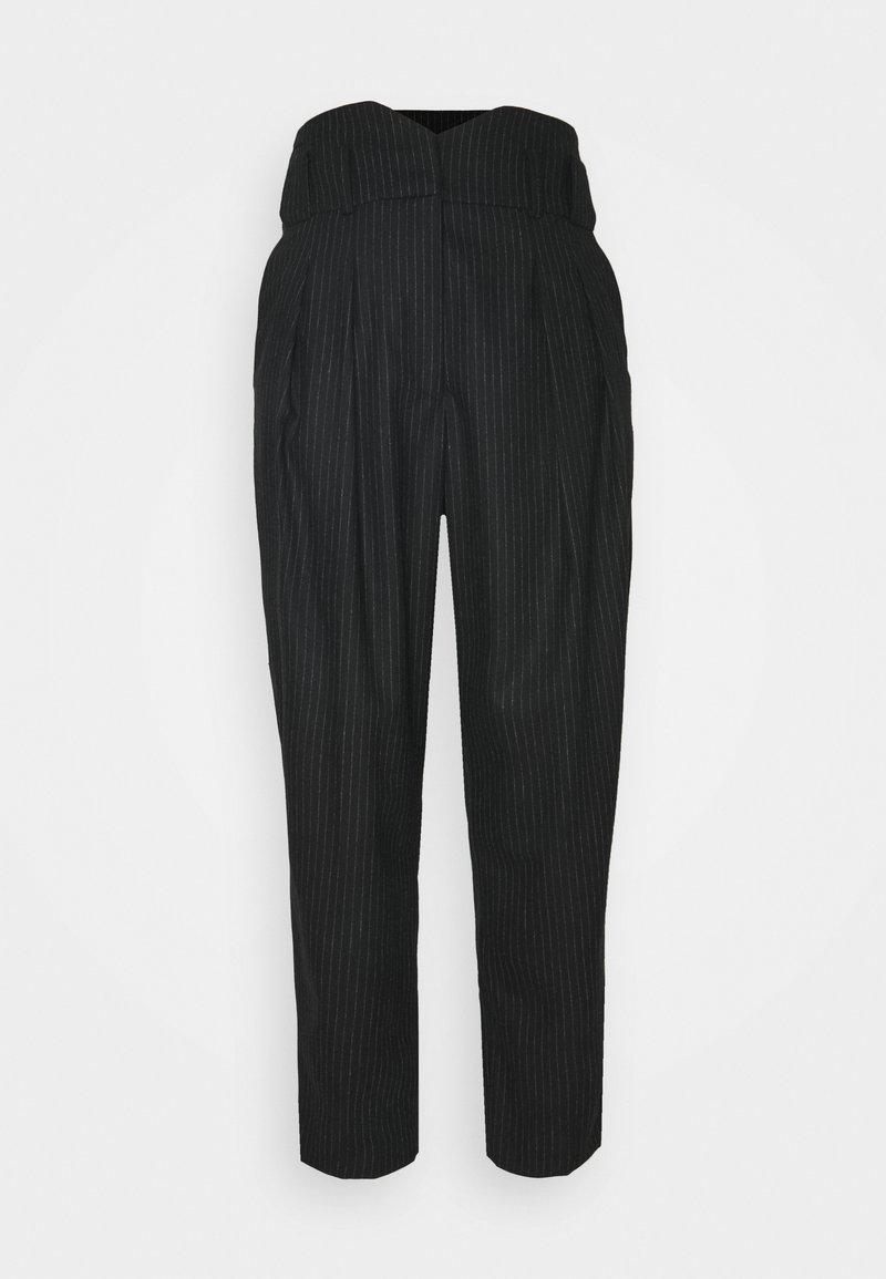 Iro - PEPINEA - Pantalon classique - black