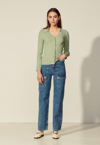 LALIE - Cardigan - vert amande