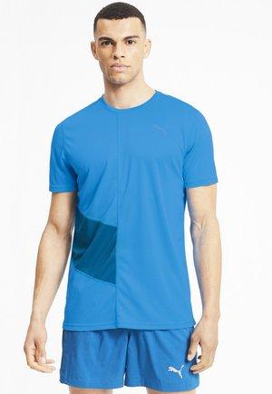 Print T-shirt - nrgy blue-digi-blue