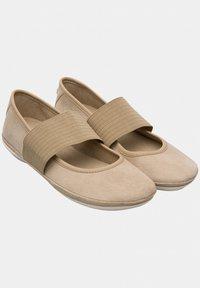 Camper - RIGHT NINA - Ankle strap ballet pumps - beige - 2