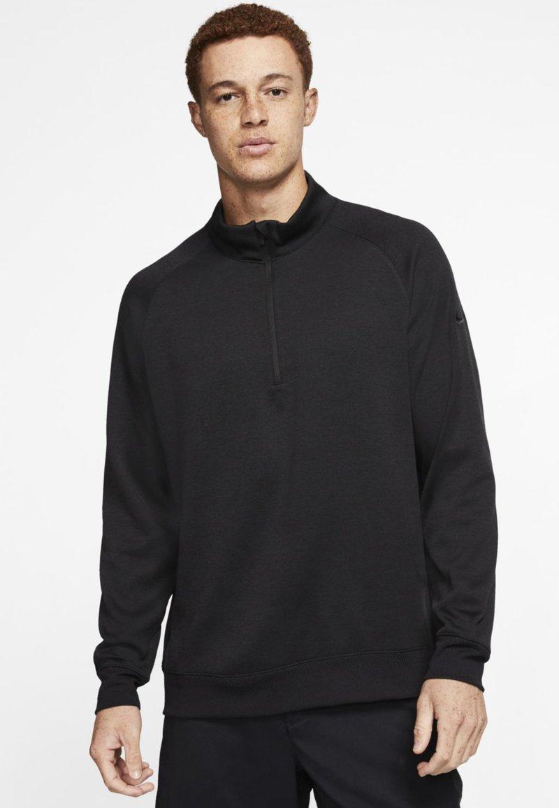 Nike Golf - DRY PLAYER HALF ZIP - Mikina - black