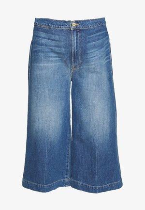 LE COULOTTE TROUSER - Relaxed fit jeans - blue denim