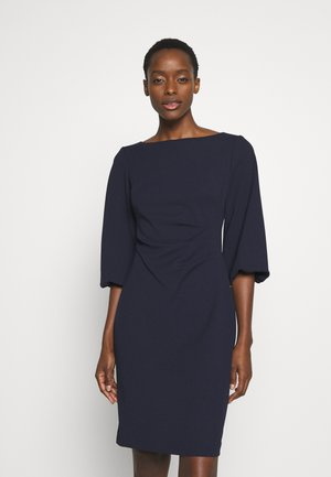 LUXE DRESS - Jersey dress - lighthouse navy