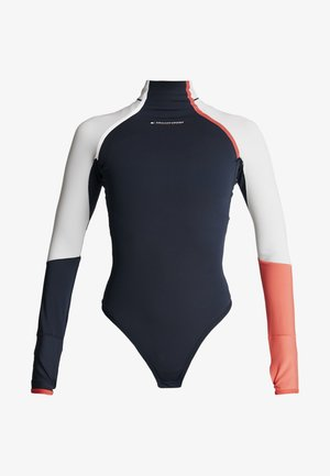 TRAIN WARM BODYSUIT - Body deportivo - blue