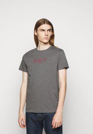 TEE - T-shirt med print - charcoal