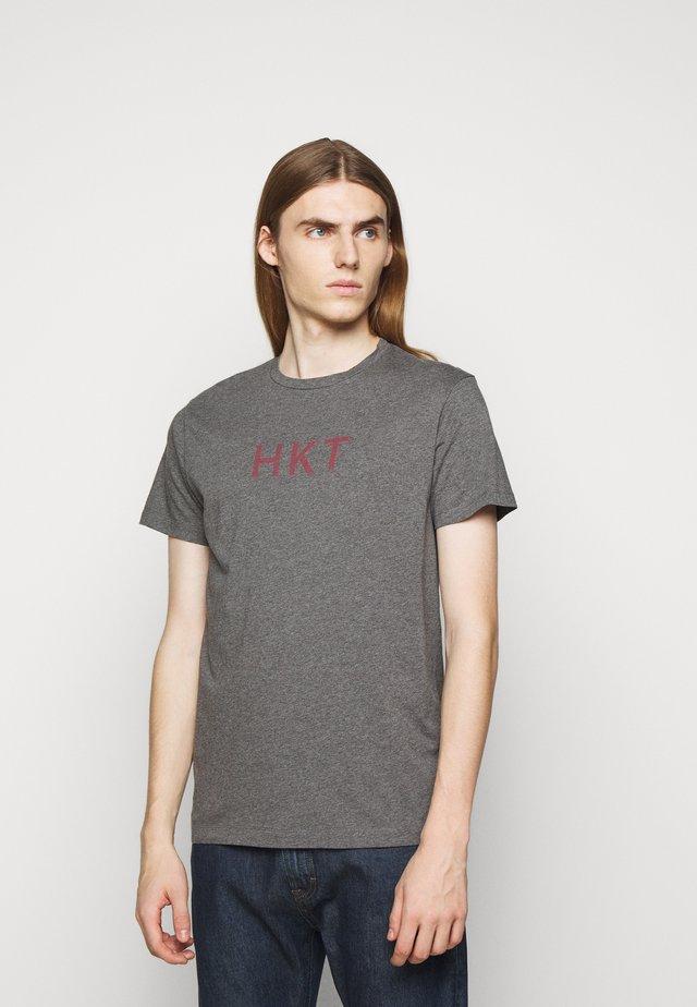 TEE - Print T-shirt - charcoal