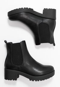 Rubi Shoes by Cotton On - KENNEDY GUSSET BOOT - Platform ankle boots - black - 3