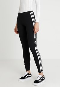 adidas Originals - ADICOLOR TREFOIL TIGHT - Leggings - black - 0