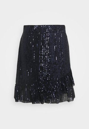 JDYMIMO SEQUINS SKIRT - A-line skirt - sky captain