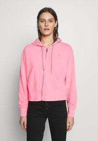 Guess - GALA - Zip-up hoodie - las palmas pink - 2