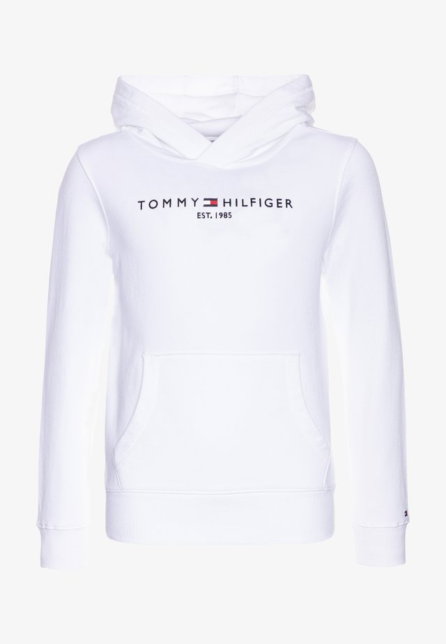 ESSENTIAL HOODIE - Jersey con capucha - white