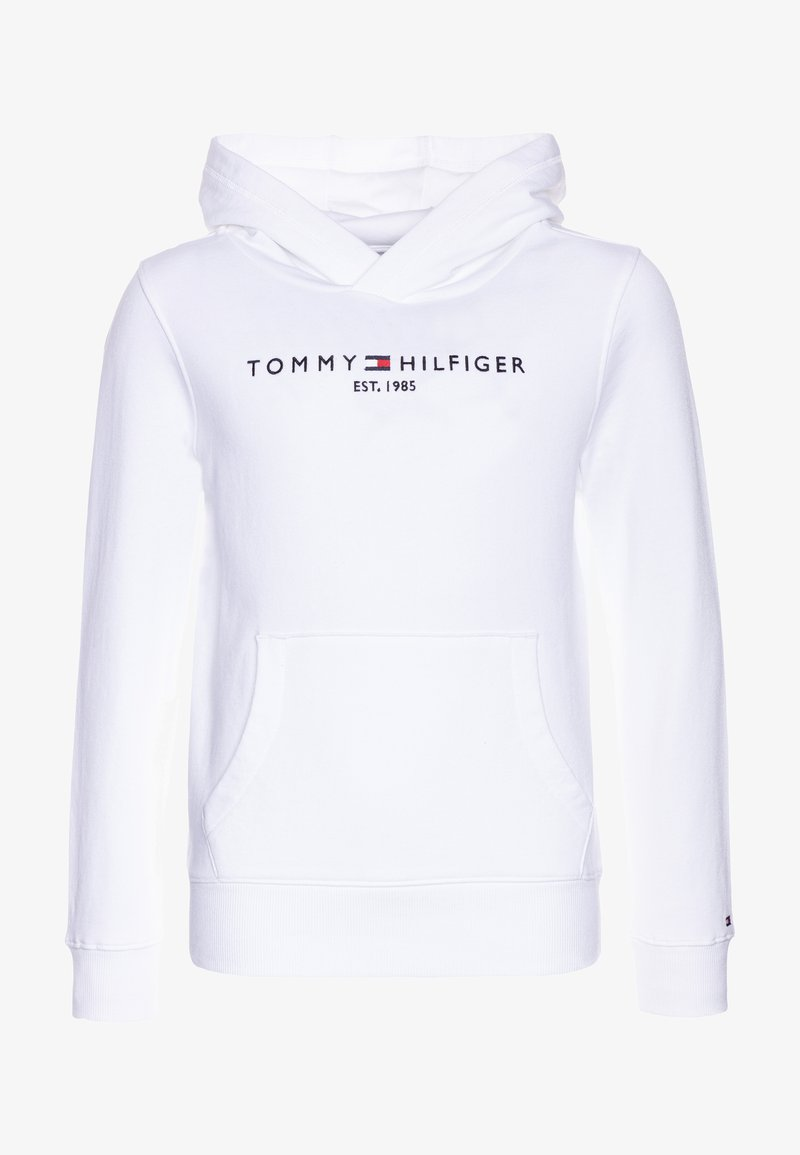 Tommy Hilfiger - ESSENTIAL HOODIE - Jersey con capucha - white