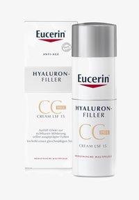 Eucerin - GETÖNTE TAGESCREME HYALURON-FILLER CC CREAM HELL, ANTI AGE CREME - CC cream - - - 0