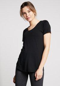 Cotton On Body - GYM - Basic T-shirt - black - 0