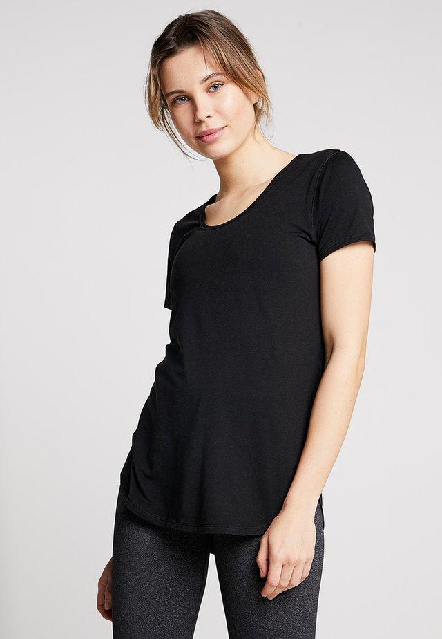 GYM - T-shirt basic - black