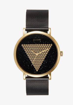 UNISEX TREND - Watch - black/gold-coloured