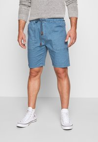 INDICODE JEANS - THISTED - Shorts - aegean blue - 0
