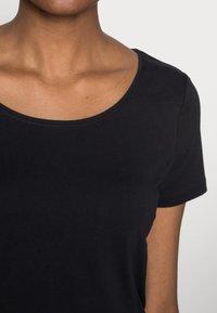 Esprit - CORE  - Basic T-shirt - black - 4