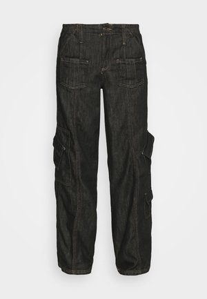 LOW RISE - Relaxed fit jeans - rinse denim