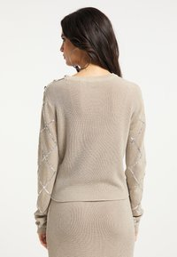faina - Jumper - beige - 2