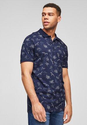 Polo shirt - blue aop