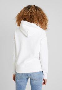 Champion Reverse Weave - HOODED - Kapuzenpullover - white - 2