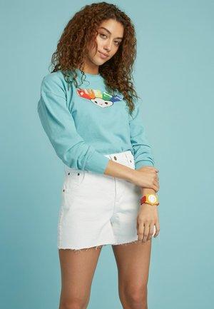 Sweatshirt - himmelblau