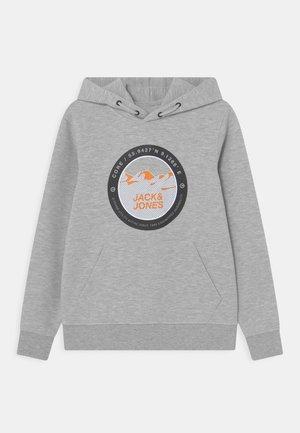 JCOBILO HOOD - T-shirt à manches longues - light grey melange
