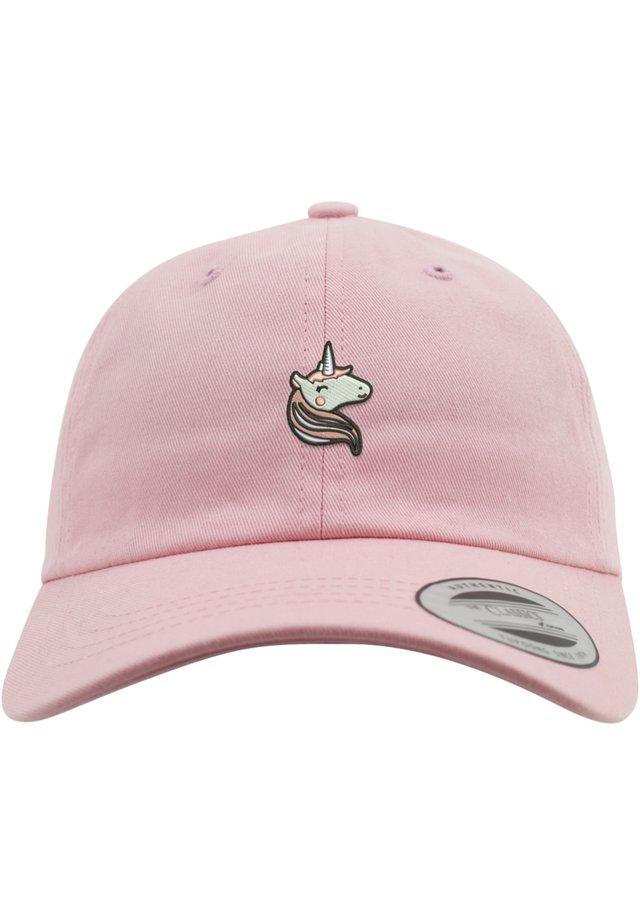MISTER TEE HERREN LADIES UNICORN DAD CAP - Pet - pink