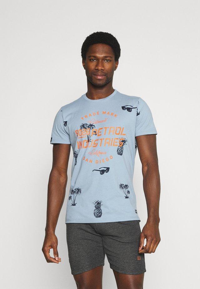 T-shirt con stampa - parott blue