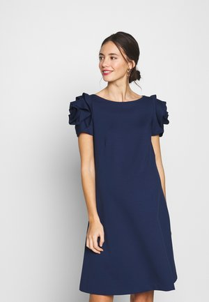 VIENNA - Žerzejové šaty - medieval blue