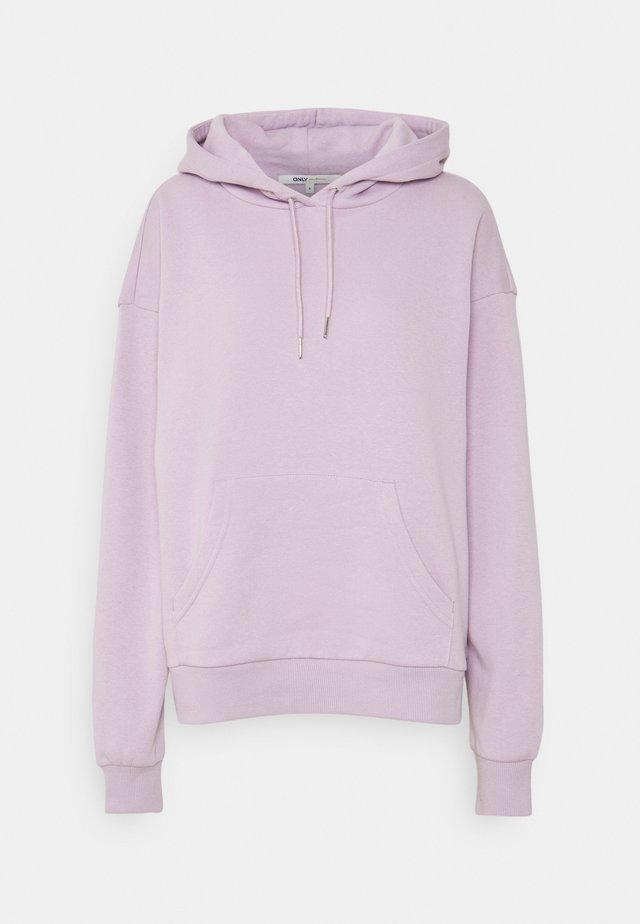 ONLJODA EVERY LIFE HOODIE - Hoodie - lavender frost