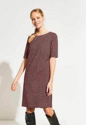 MIT DEKORATIVEM MINIMALMUSTER - Day dress - black new minimal