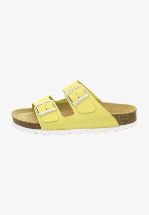 ZWEISCHNALLER - Slippers - gold