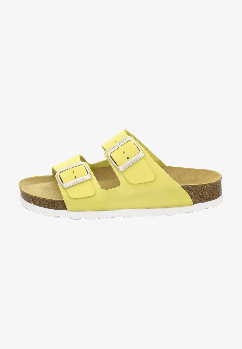 AFS Schuhe - ZWEISCHNALLER - Slippers - gold
