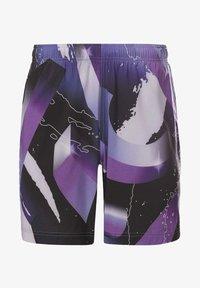 Reebok - REEBOK AUSTIN II SHORTS - Sports shorts - purple - 5