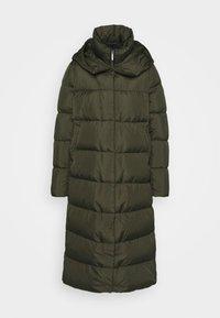 Down coat - khaki