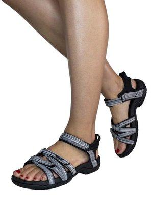 TIRRA - Walking sandals - black/ white