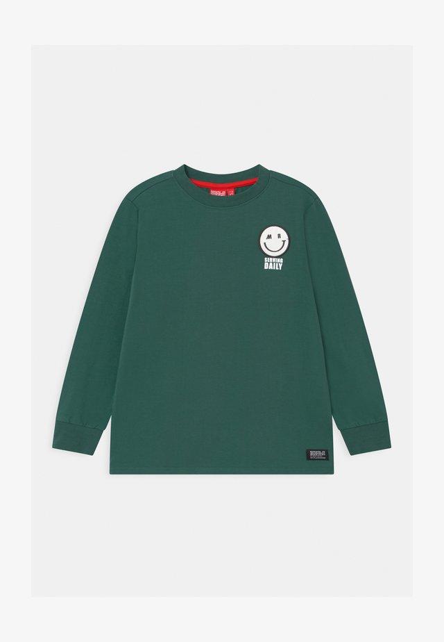 THIBO UNISEX - Bluzka z długim rękawem - mallard green