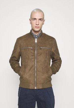 RRRAFAEL JACKET - Giacca in similpelle - dark brown