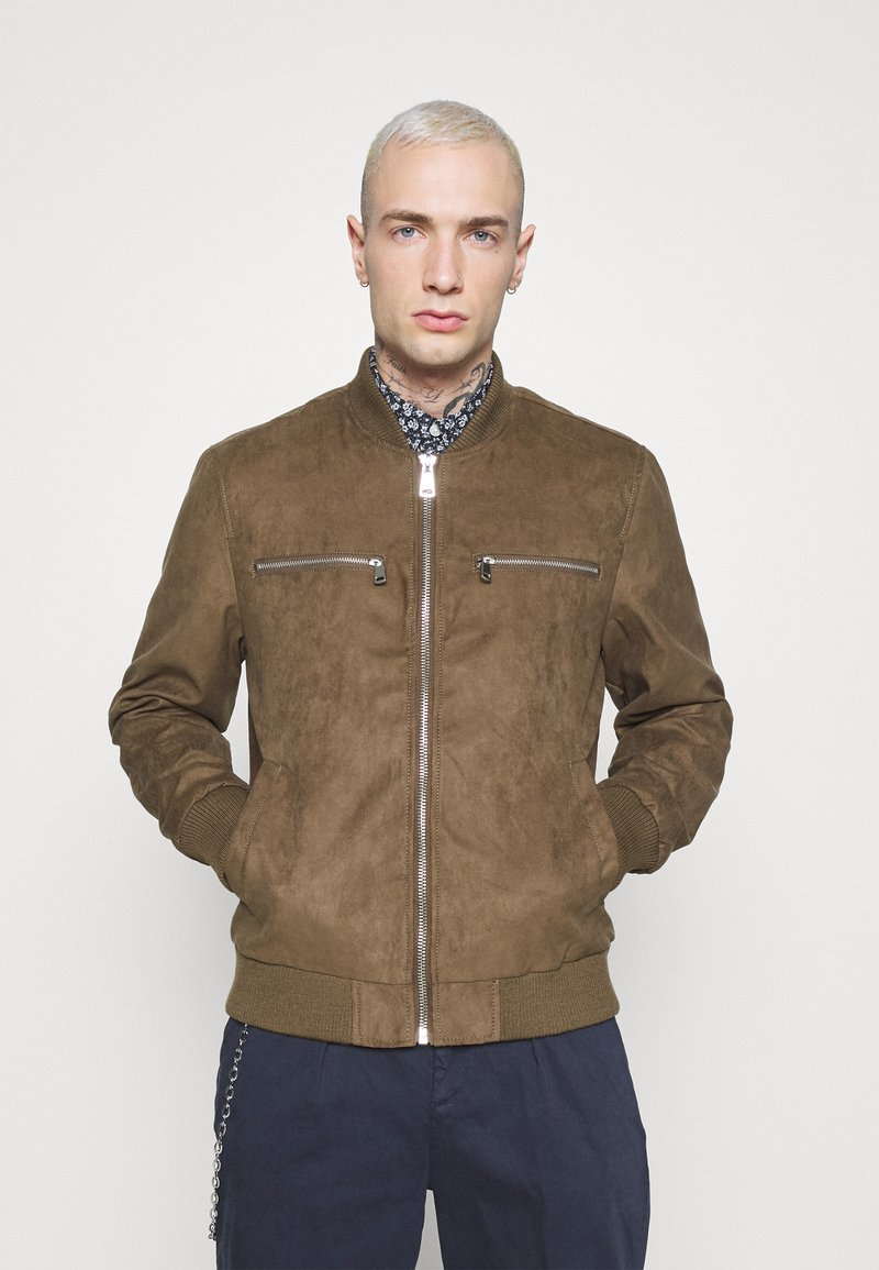 Redefined Rebel - RAFAEL JACKET - Imitatieleren jas - dark brown