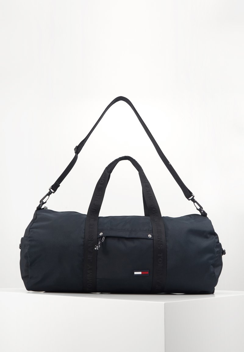Tommy Jeans - TJM CAMPUS  DUFFLE - Torba weekendowa - black