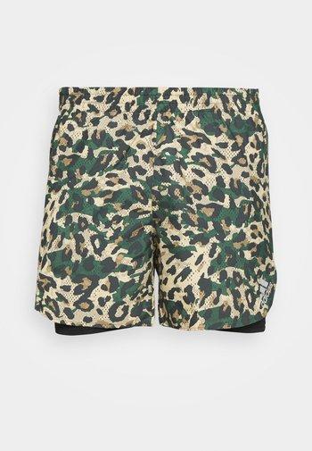 PRIMEBLUE - Pantaloncini sportivi - black/multicolor/hazy beige