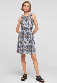 QS by s.Oliver - Day dress - pink aop - 1