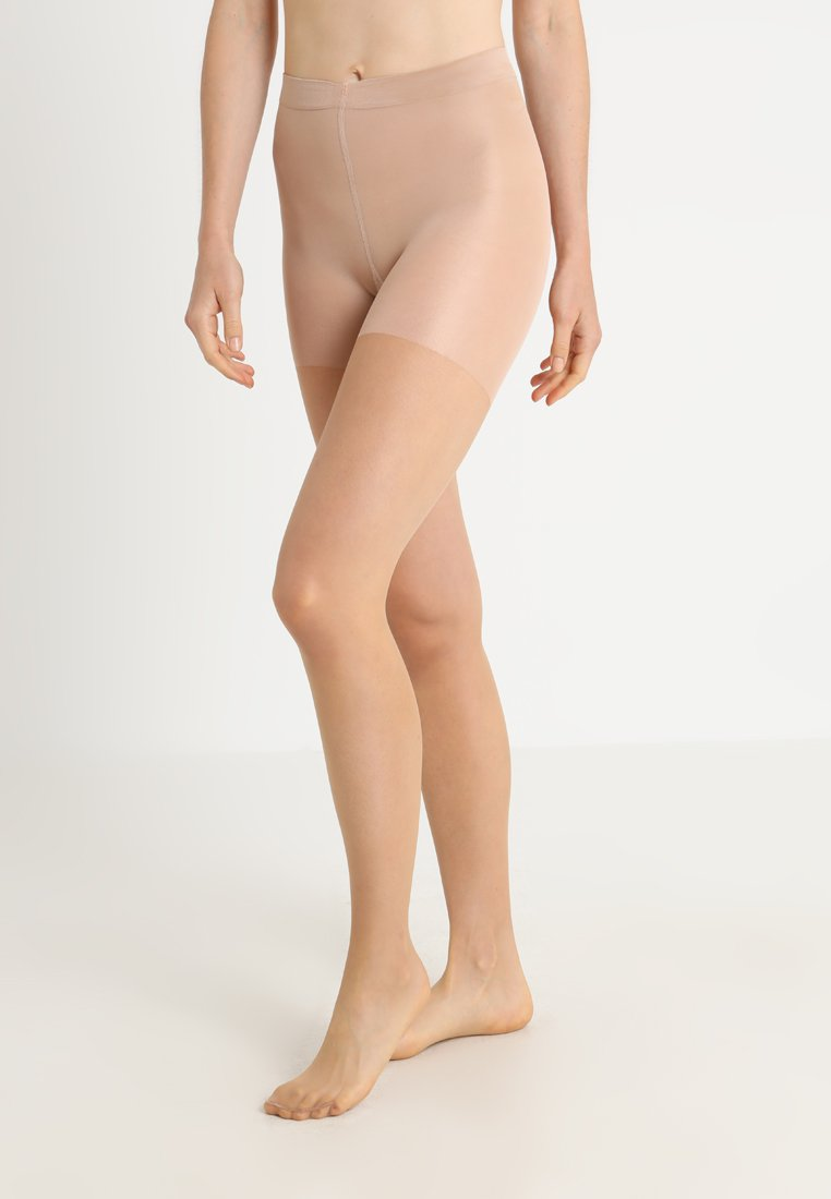 FALKE - FALKE INVISIBLE DELUXE SHAPING 8 DENIER STRUMPFHOSE ULTRA-TRANSPARENT MATT - Strømpebukser - powder