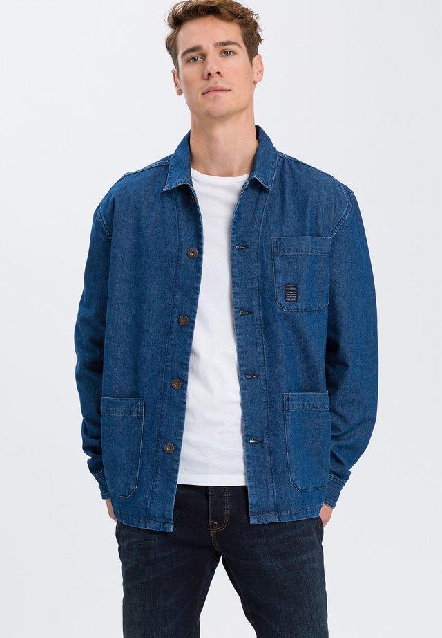 Denim jacket - mid-blue